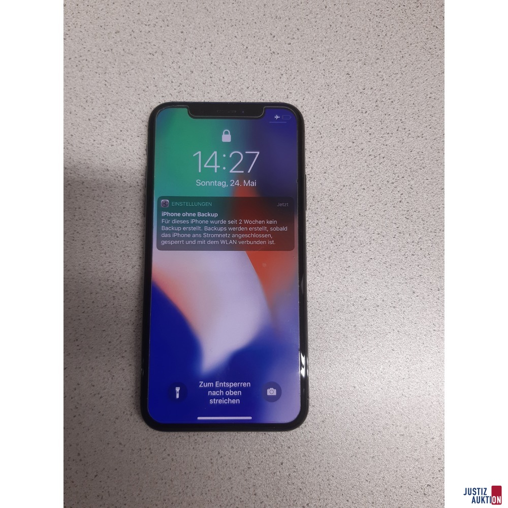 Smartphone Apple iPhone X 256 GB gebraucht